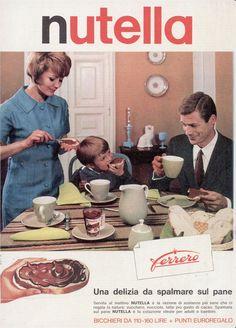 nutella anni '70/'80