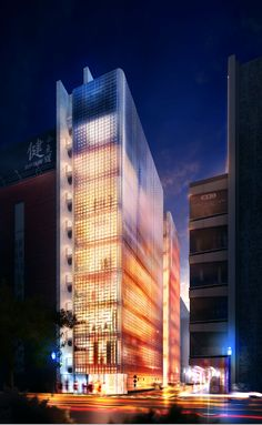 Making of Maison Hermes 3d render – 3D Architectural Visualization Rendering Blog - Ronen Bekerman