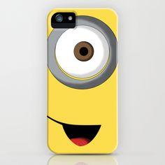 Minion iPhone Case by Jackscissorhands - $35.00