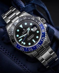 Amazing Watches, Cool Watches, Watches For Men, Wrist Watches, Rolex Gmt Master, Luxury Watches, Rolex Watches, Rolex Air King, Rolex Datejust