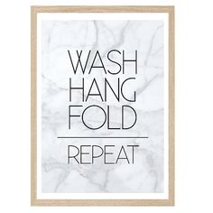 Never a truer word spoken in my household. This simple typography against a marble background is perfect for any laundry. High Quality Print on 350GSM matte card. Available in A3 and A4 sizes. Larger sizes available upon request.-Frame and accessories not included.-Shipping Charge is for regular mail. Tracking is not included in this charge and there is no signature required upon delivery.-Orders will be shipped on Tuesday and Friday. -Orders will be shipped in a tough rig...