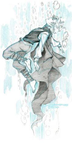 I really love Jack Frost fan art. it's always so lovely