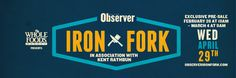 Dallas Observer IRON FORK presale and VIP ticket giveaway! Head to my instagram to enter! #IronForkDAL #foodbitchVIP
