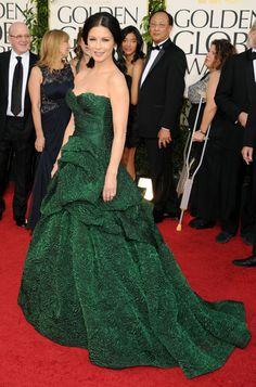 Catherine Zeta Jones, 2011 Golden Globes