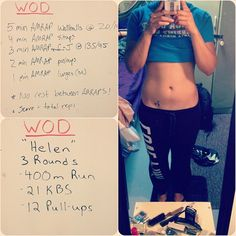 Yesterday and today's #wod I've been feeling so lazy!! #crossfit #crossfitgirls #helen #workout #fitness #deployment #fun - http://girlsworkhard.com/yesterday-and-todays-wod-ive-been-feeling-so-lazy-crossfit-crossfitgirls-helen-workout-fitness-deployment-fun/
