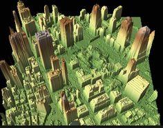 LiDAR scene of Ground Zero (Credit: NOAA) - 5 More Solutions for Working With LiDAR