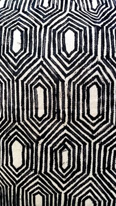 Indigenous pattern. UXUA Casa Hotel & Spa, Trancoso, Bahia.