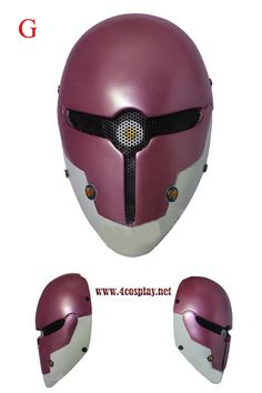 Metal Gear Gray Fox Cosplay Mask