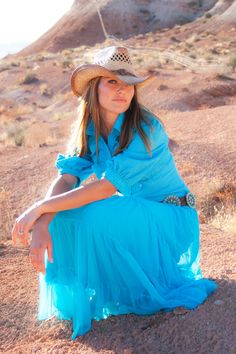 Handmade cowgirl Country Western Turquoise by RanchMamaStudio,