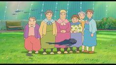 Films Ponyo Sur La Falaise  Fond d'écran