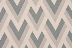 Premier Prints Zapp Cotton Drapery Fabric in Pewter/Natural $7.48 per yard