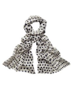 spotted scarf, Love this!!