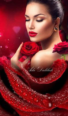 Pin on Beauty, Makeup Art, Innovative Style ,Sexy Fashion Flower Girl Photos, Girls With Flowers, Body Photography, Portrait Photography, Glamour, Belle Photo, Lady In Red, Beauty Women, Beautiful Women