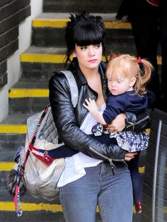 Lily Allen's little one