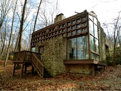 MidCentury Modern architect FRANK WEISE was relatively unknown outside his native city. EISENHOWER HOME, at 1637 Jones Ave, Valley Forge Mtn, Phoenixville.