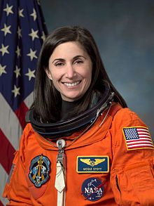 Nicole P. Stott; STS-128, Expedition 20, Expedition 21, STS-129, STS-133