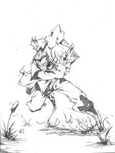 Jubei the Samurai by marvelmania