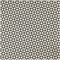 abstract geometric B&W : François Morellet, 2 Trames de tirets 0° 90°, 1972