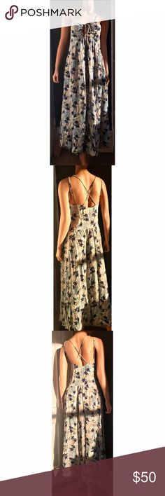 Free People Maxi Floral Dress Free People Sweater Dress. Size: XS. Never Worn! New! Free People Dresses Maxi
