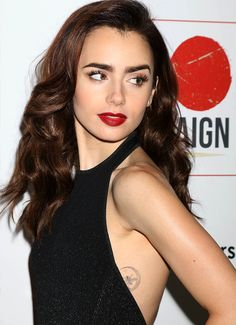 "dailylilycollins: ""  Lily Collins attends the 10th Annual GO Campaign Gala at Manuela on November 5, 2016 in Los Angeles, California """