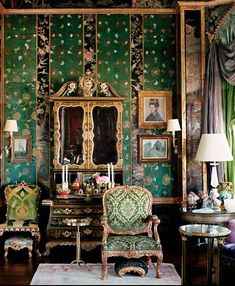 Image result for deep colored rooms