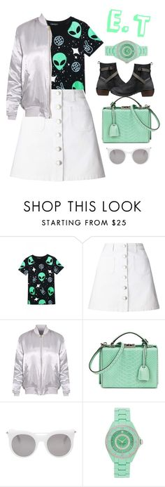 """""""Fresh, Out of this world"""" by pao-mechanic ❤ liked on Polyvore featuring WithChic, Miss Selfridge, Mark Cross, Alexander McQueen, Kate Spade, Keen Footwear and keen"""
