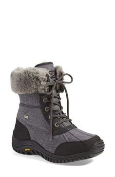 Love these UGG boots - totally waterproof and cute!