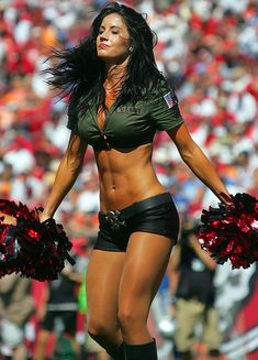 tampa bay buccaneers...this is why id did cheer leading;)