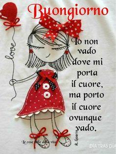 """""""No voy donde el corazón me trae, traig. Italian Memes, Emoticon, Good Morning, Christmas Ornaments, Holiday Decor, Genere, Baby Boom, Italy, Mamma"""