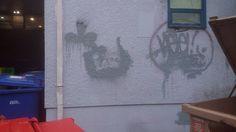 #graffiti #graff #graffitiart #salvationarmy #backalley #bin