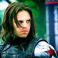 The Winter Soldier - Bucky Barnes.  Sebastian Stan