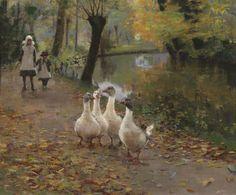 Goose Girls, Sir John Lavery