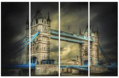 Tower Bridge (built is a combined bascule and suspension bridge in London, over the River Thames. It has become an iconic symbol of London. Over The River, Tower Of London, River Thames, Outdoor Areas, Unique Photo, Conceptual Art, Tower Bridge, Hospitality, Buy Art