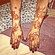 In order to make this conventional trend of henna application more exciting, fashionable and full of fun, there are a variety of mehndi designs available today. Arabic Mehndi, Rajasthani Mehndi, Crystal Mehndi, Tattoo Mehndi, etc along with the traditional Indian Mehndi are some of the most popular styles of mehndi currently. Mehndi designs consist mostly floral patterns, religious symbols, etc. while adding beauty and uniqueness to each design applied.