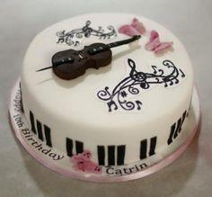 Cello  - Cake by victoria's cakes & cupcakes
