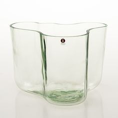 ALVAR AALTO - 'Savoy' glass vase by Iittala, numbered manufactured in Finland. - Mouth blown with the original technique into a wooden mold.
