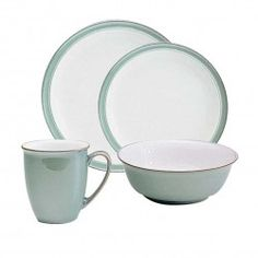 Denby Regency Green 32 pce 8 place dinner set - Tableking