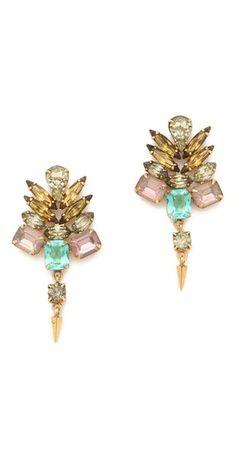 love these crystal earrings