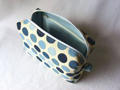Boxy pouch with inner pocket #sewing