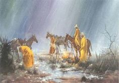 Jerry Yarnell Artist | Details about PBS Artist Jerry Yarnell 'Fire and Rain' instructional ...