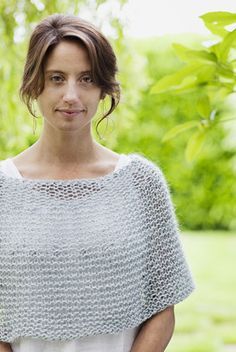 """Shoulder Cozy """"It's the perfect touch of warmth for all seasons."""" You could call…"""
