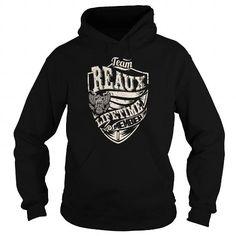 Awesome Tee Last Name, Surname Tshirts - Team REAUX Lifetime Member Eagle T-Shirts