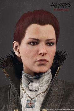 Lucy Thorne - Assassin's Creed Syndicate, Sabin Lalancette on ArtStation at https://www.artstation.com/artwork/LaN00