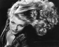Rita Hayworth. She was the modern Helen of Troy. Such a beauty.