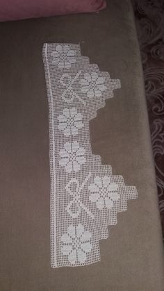 The Edging In The Photo - Diy Crafts - Marecipe Spiral Crochet, Crochet Lace Edging, Filet Crochet, Crochet Borders, Crochet Round, Crochet Amigurumi Free Patterns, Christmas Crochet Patterns, Baby Knitting Patterns, Diy Crafts Crochet
