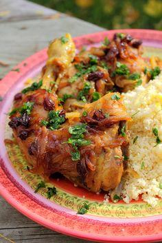 دجاج مغربي - Moroccan chicken by Adventuress Heart, via Flickr