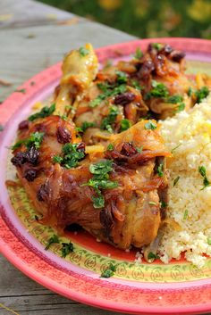 دجاج مغربي - Moroccan chicken by Adventuress Heart, via Flickr