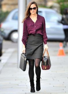 Pippa Middleton, stile e look - Outfit casual di Pippa Middleton
