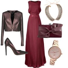 Maybe a formal Thanksgiving dinner? Passion For Fashion, Love Fashion, Womens Fashion, Event Dresses, Casual Dresses, Look Rose, Dress Outfits, Fashion Outfits, Church Outfits