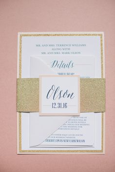 Gold Glitter Wedding